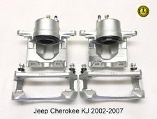2 X Pinza Delantero semi metálica Almohadillas Para Jeep Cherokee//Libertad Kj 2002-2007