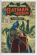 1970 DC DETECTIVE COMICS #403 NEAL ADAMS , ROBIN BACK UP STORY FN/VF   S2