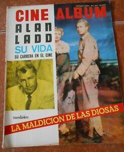 CINE magazine ALAN LADD life SPECIAL HOLLYWOOD VAMPS MARILYN MONROE LIZ TAYLOR