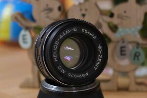 🔥Helios MC 44 M6  f 2/58mm Objektiv M42 Mount 🔥