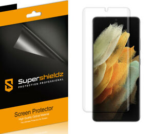2XSupershieldz Clear Full Cover Screen Protector for Samsung Galaxy S21 Ultra 5G