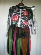 GIRLS HALLOWEEN TUXEDO COSTUME/FANCYDRESS CHILDS SIZE 7-8YEARS NEW BNWT