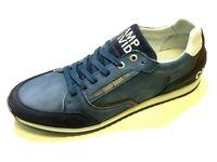 Camp David Herren Schuhe Halbschuh Schnürschuh Schnürer Sneaker 8229 eagle blue