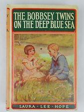 The Bobbsey Twins on the Deep Blue Sea by Laura Lee Hope HCDJ Hardcover #11