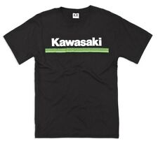 Kawasaki Genuine 3 Green Lines Tee New With Tags Youth XL