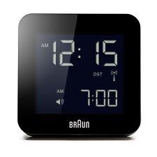 Braun Design BNC009-RC digitaler Funkwecker, schwarz, BKBK, 66018