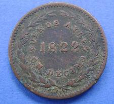 1822 Argentinie - Argntina - 1 Decimo 1/10 Real Buenos Aires - KM# 1 - Rare!