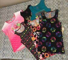 NWT Girl sz S 6/6X Clothing lot Graphic Tank lot Shopkins cap sleeve shirt