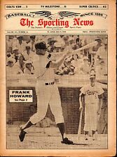 Sporting News 5/9/1964 Baseball magazine, Frank Howard, Los Angeles Dodgers ~ VG