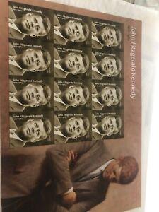 Jfk Stamp Sheet Mint Condirion