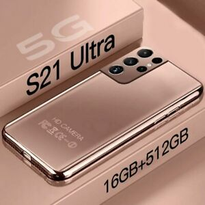 S21 Ultra Smartphone Global Version Cellphones 7.3 Inch 5G Smart Phone Android