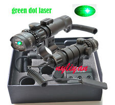 Hot Sale Green Dot Laser Sight Scope/Barrel Mount &Remote Switch for Rifle gun
