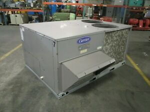 Carrier Rooftop Unit 48TCED08A2A5A0A0A0 7.5-Ton 208/230V 3Ph MFD: 2011 Used