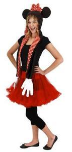 Disney Minnie Mouse Hoodie Scarf Adult Costume Accessory