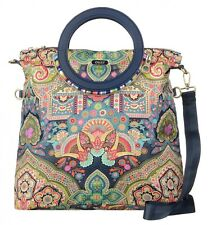 Oilily Folding City Shoulder Bag Tasche Schultertasche Blau Blue Neu