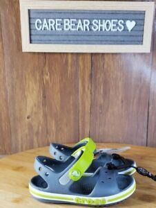Crocs Bayaband Sandal K Charcoal SIZE C5 205400-025