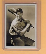 Lou Gehrig NY Yankees signature photo card Plutograph serial numbered /200