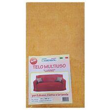Mobilier de tissu couleur moutarde 270x280 couvre tout granfoulard Housse Coton