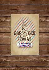 Barber Shop Sign, Metal Sign, Barber Shop Signs, Vintage Style,Barbers Sign,668