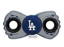 Los Angeles Dodgers MLB Logo Two Way Diztracto Fidget Hand Spinner