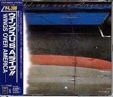 WINGS Over America JAPAN Early Press 1989 2 CD Paul McCartney W/Obi RARE!