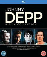 Johnny Depp Collection [Blu-ray] [2015] [Region Free] [DVD][Region 2]