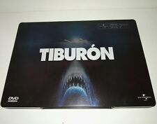 Jaws/Tiburón DVD Steelbook ,Collectors Edition 2 discs , Spanish ver. Very rare