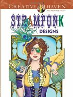 Steampunk Coloring Book Adult Colouring Book Brand New 9780486499192