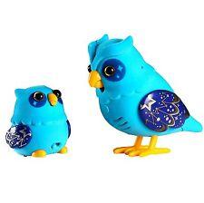 Little Live Pets Tweet Talking Blue Owl Baby Ages 5+ Toy Bird Play Nightstar Fun