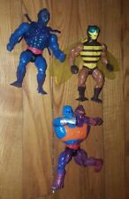 Vintage He-Man MOTU Masters Of The Universe Lot of 3 Action Figures