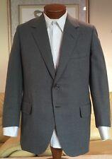 Oxxford Clothes Mens Gray Wool 2 Btn Blazer Sz 40 41 R MINT!
