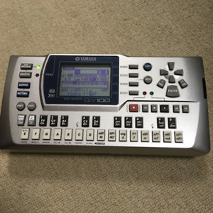 Yamaha QY100 Mobile Sequencer / Rhythm Machine From Japan Used