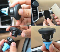Universal Magnetic Auto Car Air Vent Holder Stand Mount For Mobile Phone GPS