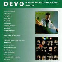 Devo Q:Are We Not Men? A:We Are Devo/Devo Live 2on1 CD NEW SEALED Jocko Homo+