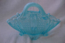 Vase Blue Bagley, Sowerby & Davidson Art Glass