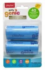 Playtex 2 Pack Potty Genie Liner System Refills - Set Of 5 (10 Rolls Total)