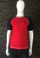 Dolce & Gabanna Red & Blue Crew Neck T-Shirt Size UK XL EU 52 US 42 BNWT