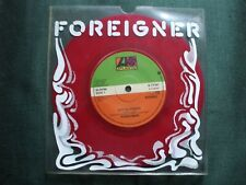 Foreigner  -  Hot Blooded  Original 1978 Single Limited Edition Red Vinyl.