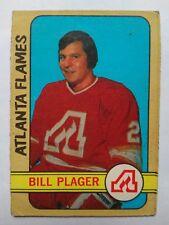 1972-73 OPC O-Pee-Chee #122 Bill Plager RC Atlanta Flames - VG
