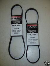 Miatamecca New (J) Fan Belt Set with P/S,w/o A/C 94-97 Mazda Miata MX5