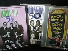 Rock, Rhythm Doo WoP 50 51 PBS CONCERTS 6.5 HRS (3) DOUBLE LENGTH DVD  BRAND NEW