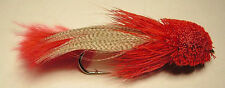 Zoo Cougar Streamer Red #6  Big Trout
