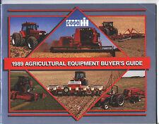 CASE IH 1989 Buyers Guide