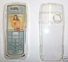 Clear plastic Nokia 6230 Express on cover, fascia NEW UK seller clips over phone