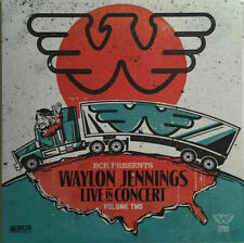 Waylon Jennings BCR Presents Live In Concert V 2 WHITE vinyl LP NEW/SEALED