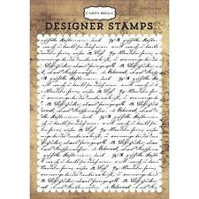 Carta Bella Background Stamp A2 - Transatlantic Travel, Travel Journal