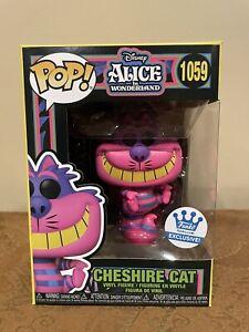 New Funko Pop! Cheshire Cat Alice Black Light Funko Shop Exclusive #1059 In Hand