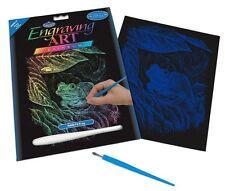 Royal and Langnickel - Engraving Art Set – Frog – Rainbow Foil