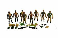 Soldados De Juguete fuerza de combate del Ejército para Hombre Guerra Mundial conjunto Figura Soldado De Guerra Multicolor