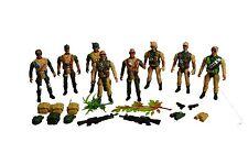 SOLDATINI Esercito Men Guerra Mondiale Combat Force Set Multi-colore Figura soldato guerra
